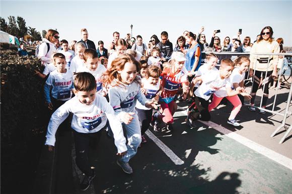 В Самаре прошли благотворительные забеги в пользу подопечного Русфонда