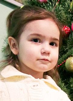 Лера Фирсова, 2 года, врожденный порок сердца, спасет операция, требуется окклюдер. 87626 руб.