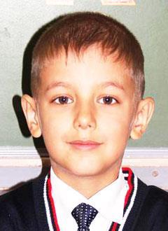 Артем Машков, 9 лет, врожденный порок сердца, спасет эндоваскулярная операция, требуется окклюдер. 121000 руб.