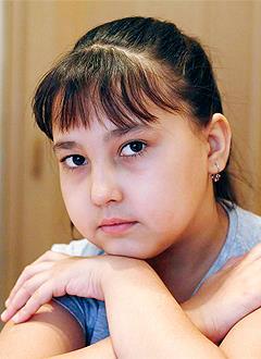 Разиля Юлбарисова, 10 лет, врожденный порок сердца, спасет эндоваскулярная операция, требуется два окклюдера. 423500 руб.