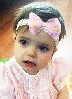 Злата Зарубина, 1 год, врожденный порок сердца, спасет эндоваскулярная операция. 339063 руб.