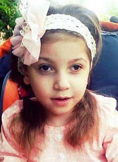 Айлина Алиева, 5 лет, детский церебральный паралич, требуется лечение. 199430 руб.