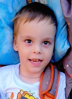 Кирюша Софронов, 5 лет, детский церебральный паралич, требуется лечение. 199430 руб.