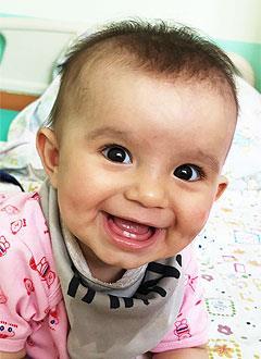 Индира Хамитова, 10 месяцев, врожденный гиперинсулинизм, требуется лекарство. 116963 руб.