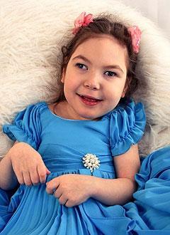 Арина Мехоношина, 6 лет, детский церебральный паралич, эпилепсия, требуется лечение. 199430 руб.