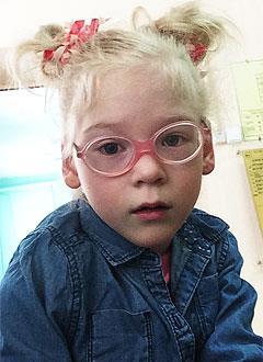 Поля Прокофьева, 7 лет, детский церебральный паралич, эпилепсия, требуется лечение. 199430 руб.