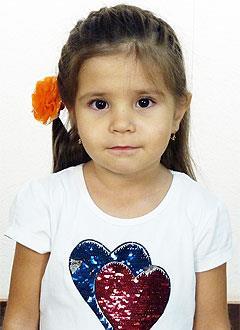 Юля Ахметова, 4 года, врожденный порок сердца, спасет эндоваскулярная операция, требуется окклюдер. 198072 руб.