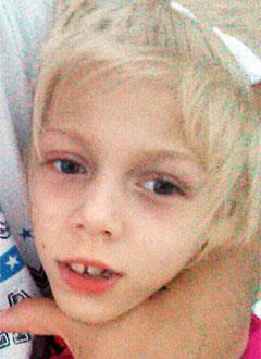Женя Матросова, 9 лет, детский церебральный паралич, требуется лечение. 199430 руб.