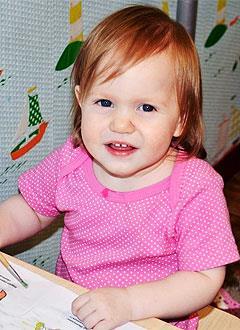 Оля Горбачева, полтора года, врожденная двусторонняя косолапость, рецидив, требуется лечение. 206150 руб.