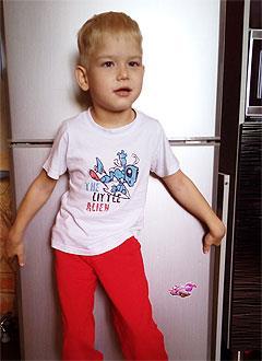 Вова Рухман, 7 лет, детский церебральный паралич, требуется инвалидная коляска. 38018 руб.
