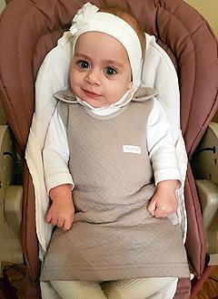 Оля Глушкова, 5 месяцев, болезнь Ниманна – Пика, требуется обследование в медицинском центре «Хадасса Медикал Сколково» (Москва). 76384 руб.