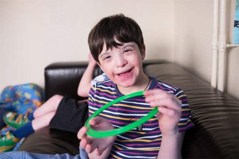 Вовка научился улыбаться – большего счастья для волонтеров и воспитателей и не существует