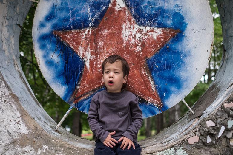 Сережа в детском лагере «Галактика», куда дети из Домика ездят каждый год