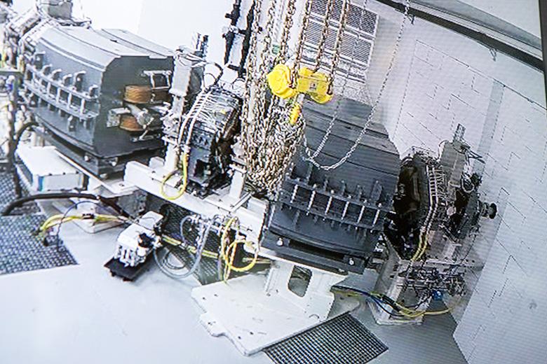 Монтаж оборудования в миниатюре